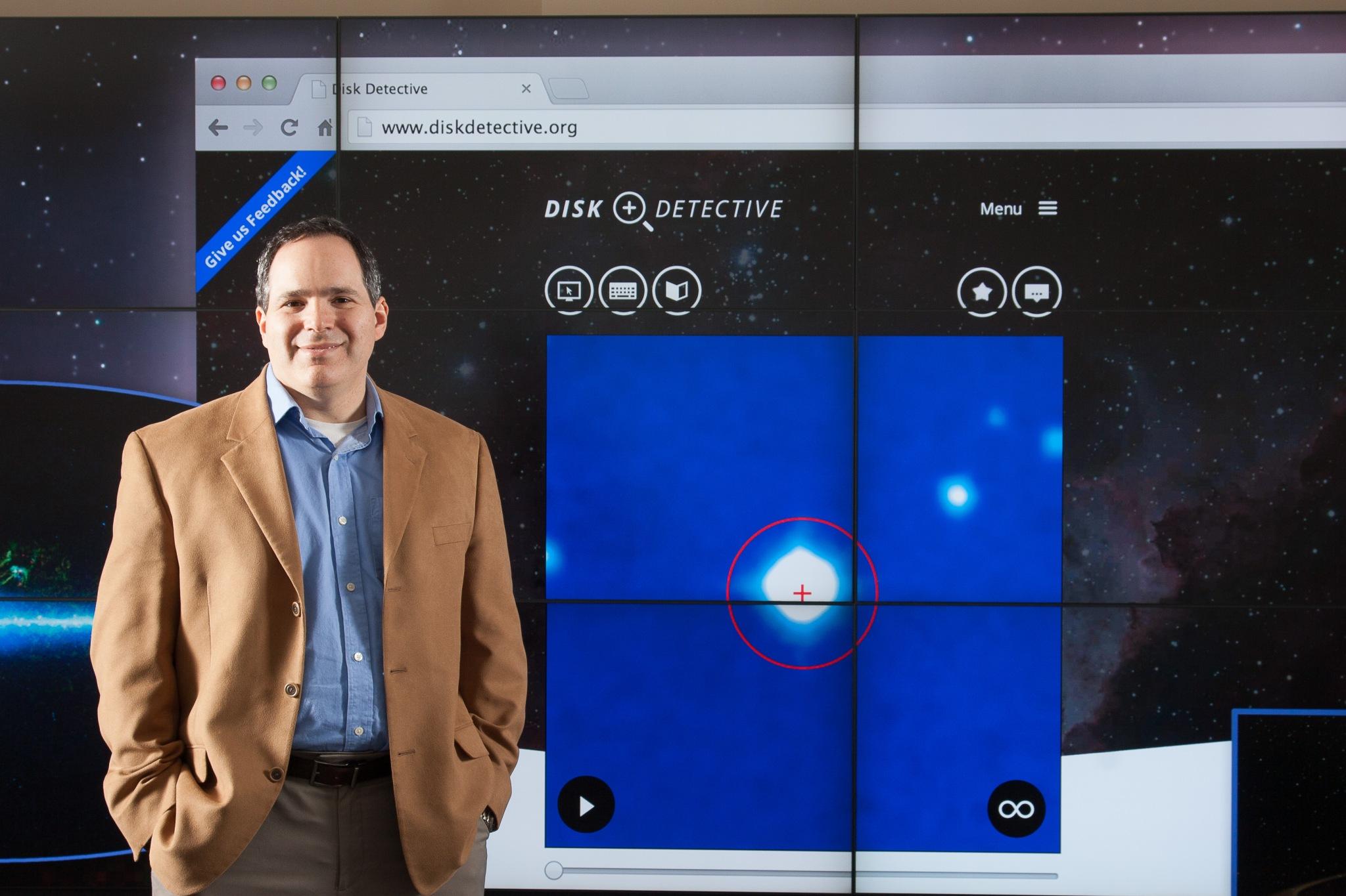 DiskDetective with P.I. Marc Kuchner, NASA/GSFC
