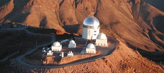 Aerial photograph of CTIO, Cerro Tololo, Blanco 4-meter, SMARTS, 2006